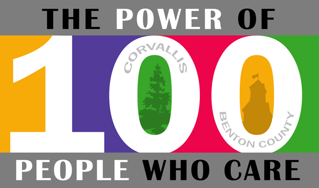 100 People Who Care logo