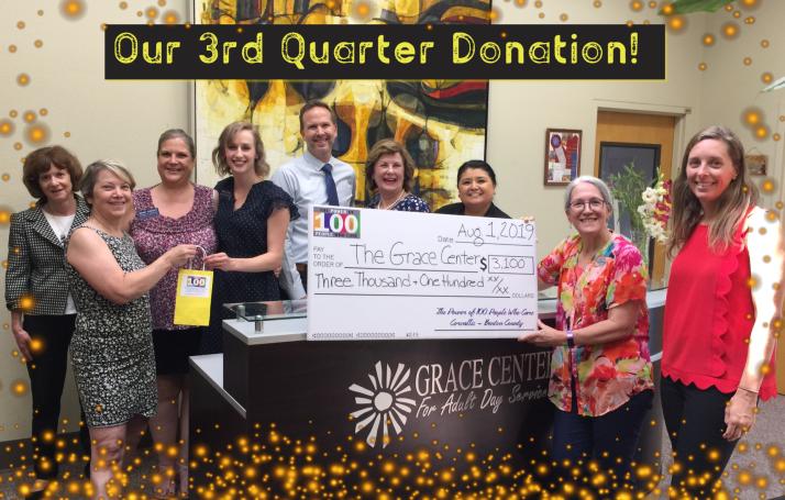 Grace Center donation